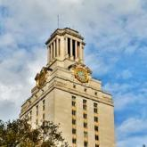 UT Tower as staff headshot placeholder.