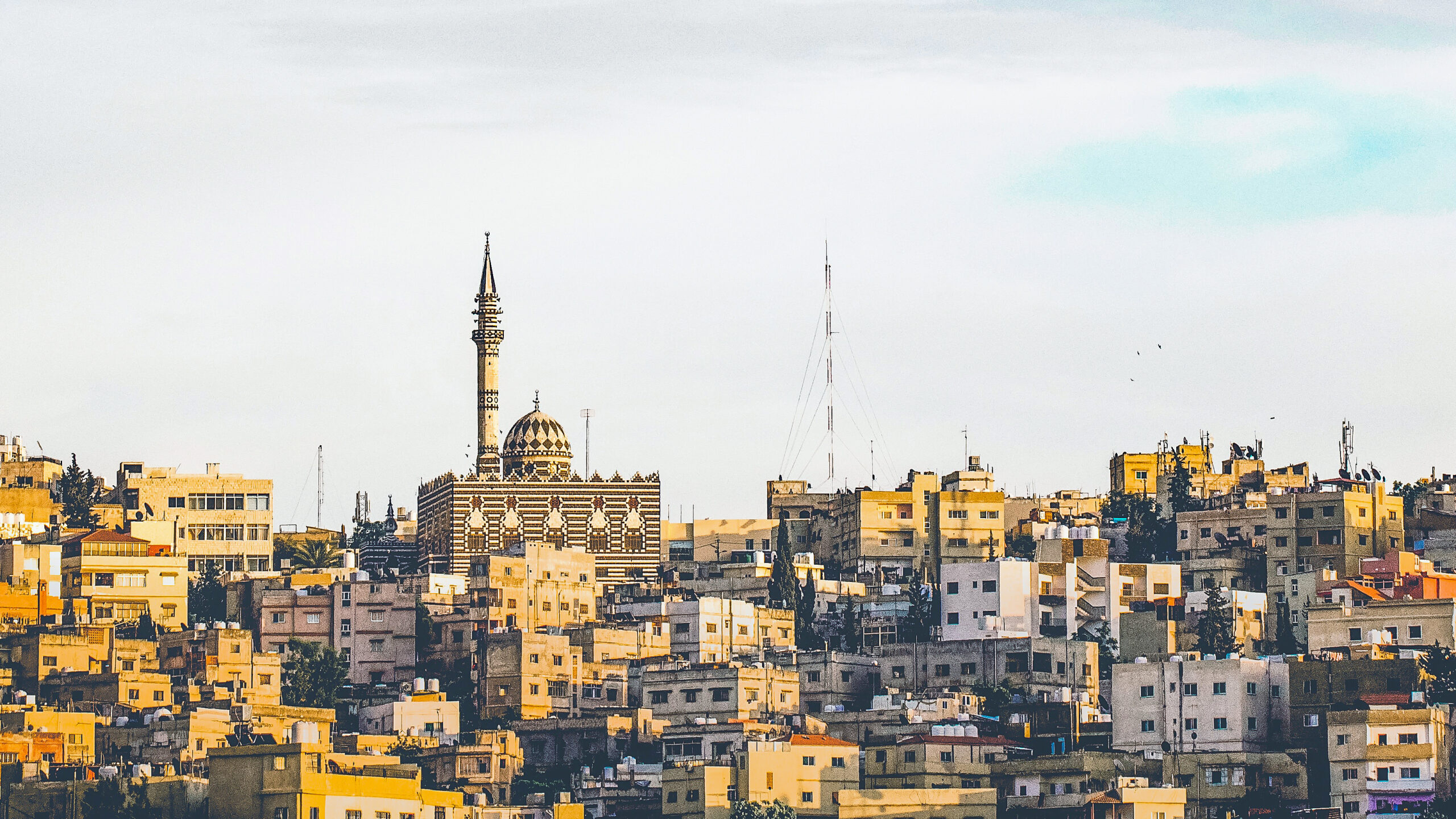 a view of amman, jordan